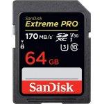 SanDisk Extreme PRO 64 GB SDXC-Speicherkarte (UHS-II) um 72,99 €
