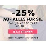 Marionnaud – 25% Rabatt auf (fast) alles für SIE