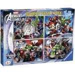 Ravensburger – Marvel – 4 x 100 Teile Puzzlekoffer um 9,52 € statt 21,29 €