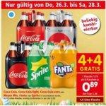 Coca Cola / Fanta / Sprite / Mezzo Mix 1,5 L um 0,89 € bei Interspar