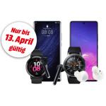 20% Rabatt auf Huawei- & Samsung Smartphones & Wearables