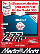 Eröffnungsangebote vom 13.4 – 15.4 (neues Prospekt) @Media Markt Vösendorf (SCS)