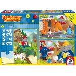 Schmidt Spiele Benjamin Blümchen Puzzle (3 x 24 Teile) um 5€ statt 8,79€