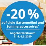 Ikea – 20% Rabatt auf viele Gartenmöbel und Sommeraccessoires