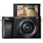 Sony Alpha 6100 E-Mount Systemkamera + SEL-P1650 Objektiv um 655 €