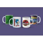 4 Tassen (Super Mario, Sonic, Zelda, …) inkl. Versand um 17 € statt 27,96 €