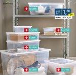 Aufbewahrungsboxen mit Deckel in Aktion bei Möbelix (gratis Versand)