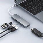 AUKEY USB C HUB 5 in 1 USB Typ C Adapter um 19,99 € statt 24,99 €