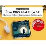 Thalia – 1.000 Hörbücher um je 5 € (nur heute)