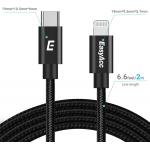 EasyAcc USB C auf Lightning Kabel 2m um 6,99 € statt 13,99 €