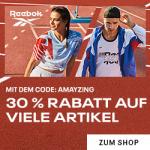 "Reebok ""Amayzing"" – 30% Rabatt auf Neuheiten & 25% Rabatt auf Sale"