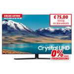 Samsung UE55TU8500 55″ 4K Smart TV um 708,89 € statt 790,98 €