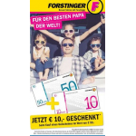 Forstinger – 50 € Gutschein kaufen + 10 € Gutschein geschenkt