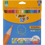 Bic Kids Evolution Buntstifte Set mit 24 Buntstiften um 4,68 € statt 11,29 €