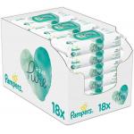 18x Pampers Aqua Pure Feuchttücher (48 Stück) um 10,11 € statt 26,94 €