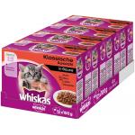 Whiskas Junior Katzennassfutter, 48 x 100g um 7,19 € statt 18,76 €