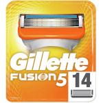 Gillette Fusion5 Rasierklingen, 14 Stück um 19,11 € statt 47,16 €