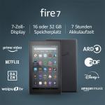 Fire 7-Tablet (7″, 16 GB, 9. Gen) um 40,48 € statt 53,60€