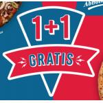Domino's Pizza – 1 + 1 Gratis auf Pizzen – nur bei Abholung!