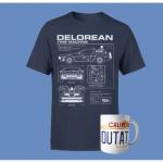 Zurück in die Zukunft T-Shirt & Tasse nach Wahl inkl. Versand um 11,48 €