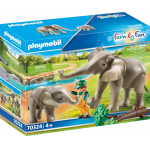 "playmobil ""Elefanten im Freigehege"" um 12,47 € statt 22,98€"