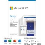 Microsoft 365 Family | 6 Nutzer | 1 Jahr um 44,47 € statt 66,90 €
