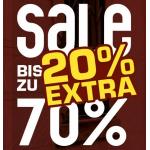 Snipes: 20% Extra-Rabatt auf den Sale (mit bis zu 70% Rabatt)