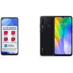 Huawei P40 lite 5G + Y6P Dual SIM Smartphones + 5 € Gutschein um 413 €