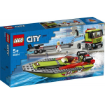 LEGO City – Rennboot-Transporter (60254) um 19,19 € statt 25,28 €