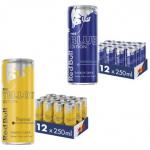 """48 Dosen Red Bull """"Tropical"""" oder """"Heidelbeere"""" um 33,54 € statt 48 €"""