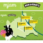 Ben&Jerrys Eis + mjam-Goodies GRATIS in Wien (bis 31.07.)