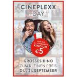 Cineplexx Day – Kinotickets um 5€ (ohne Aufschläge) am 21. September