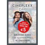 Cineplexx Day – Kinotickets um 5€ (ohne Aufschläge)