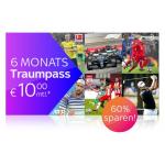 Sky X Traumpass – 6 Monate um je nur 10 € statt 24,99 €