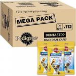 Pedigree DentaStix Daily Oral (kl. Hunde, 112 Stück) um 14€ statt 20,58€
