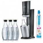 SodaStream Crystal 2.0 Trinkwassersprudler mit 3 Glaskaraffen um 75 €