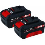 Einhell X-Change Akku-Twinpack (2 x 4.0 Ah Akkus) um 86,15 € statt 111 €