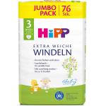 4x HiPP Babysanft Windeln Midi 3 Jumbo, 76 Stück um 39,31 € statt 59 €