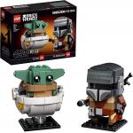LEGO BrickHeadz – Der Mandalorianer und das Kind (75317) um 15,11 €