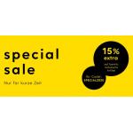 Breuninger – 15% Extra-Rabatt auf bereits reduzierte Ware
