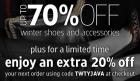 -20% auf das gesamte Sortiment (Schuhe, Taschen u.v.m) inkl. kostenloser Lieferung bis 12.2.2012 @Javari.co.uk
