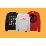 Marvel Sweatshirts inkl. Versand um 16,99 € bei Zavvi