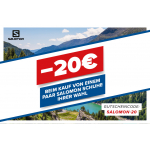 Hervis Onlineshop – 20€ Rabatt auf Salomon-Schuhe