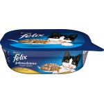 FELIX Katzenfutter Soßenschmaus Huhn (6x 200g) um 3,78€ statt 6,19€