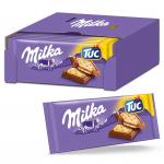 Milka Alpenmilch Schokolade & TUC Cracker (18 x 87g)um 12,46 €