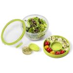 Emsa Salatbox 1L mit 2 praktischen Einsätzen um 5,71 € statt 12,76 €