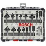 Bosch Professional 15tlg. Fräser Set um 46,54 € statt 67,18 €