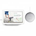 Google Nest Hub + gratis Google Nest Mini um 78 € statt 134,48 €