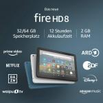 Fire HD 8-Tablet mit Alexa (8″, 32 GB, 10. Gen) um 55,45 € statt 97,47 €