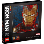 LEGO Art – Marvel Studios Iron Man (31199) um 79,99 € statt 99,34 €
